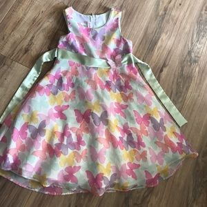 Other - EUC Pastel Butterfly Dress